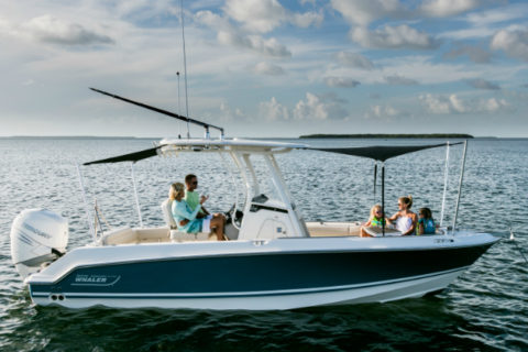 BOSTON WHALER 230 OUTRAGE WINS 2017 NMMA INNOVATION AWARD
