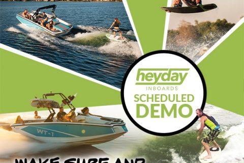 HeyDay Demos & Wake Sports Lessons