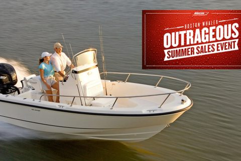 Boston Whaler's Outrageous Summer Sales Event