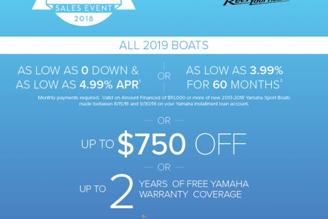 Yamaha End of Summer Sales Event