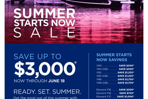 Bayliner's Summer Starts Now Sale
