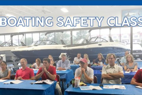 Boating Safety Class May 14-15, 2019