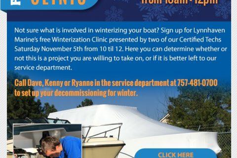 Winterization Clinic