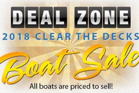Clear the Decks Boat Sale
