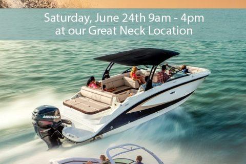 Sea Ray Demo Day June 24th