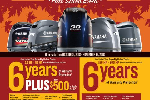 Yamaha Outboards Why Wait for Spring Sales Event