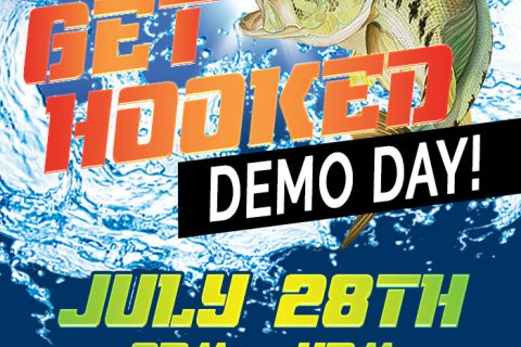 GET HOOKED Fishing Boat Demo Day