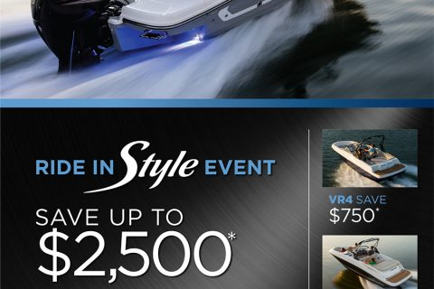 Bayliner Ride in Style Sales Event – Ends 5/21/2018