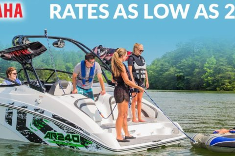 Summer Incentives on Yamaha Sport Boats