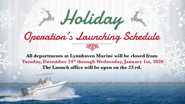 Holiday Launch Schedule 2019