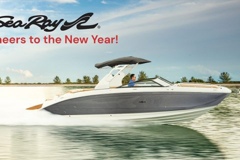 SeaRay Cheers to the New Year Savings Event