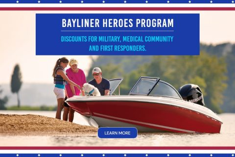 BAYLINER HEROES PROGRAM FOR MILITARY, MEDICAL COMMUNITY, AND FIRST RESPONDERS