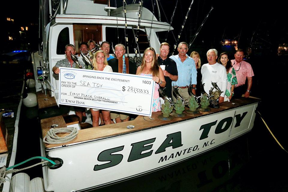 The Sea Toy of Manteo, winner of last year's Virginia Beach Billfish Tournament